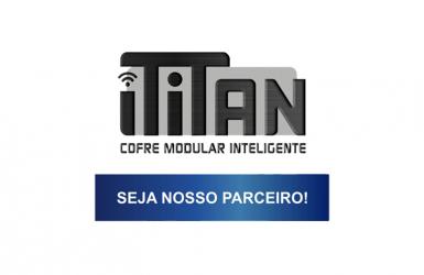 iTITAN Cofre Modular Inteligente – Seja Nosso Parceiro